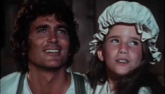 """Michael Landon y Melissa Gilbert fueron padre e hija en """"La familia Ingalls"""", serie donde desarrollaron una conexión muy especial. (Foto: NBC)"""