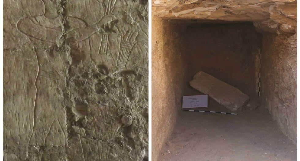 Descubren la tumba de un ministro del Alto Egipto de la Dinastía XXVI