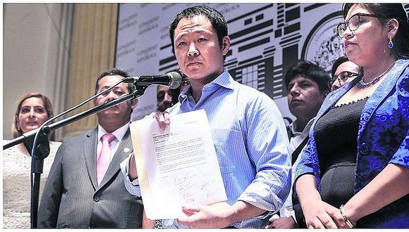 Kenji Fujimori creará nuevo partido para el 2021 y se aliará en el 2018