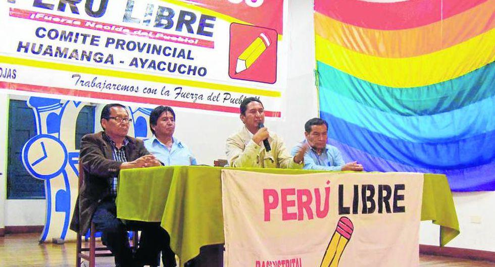 Perú Libre irá con candidato propio el 2016
