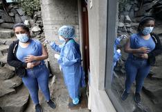 Brigadas vacunarán casa por casa contra la COVID-19 a mayores de 21 años en siete distritos de Lima Sur