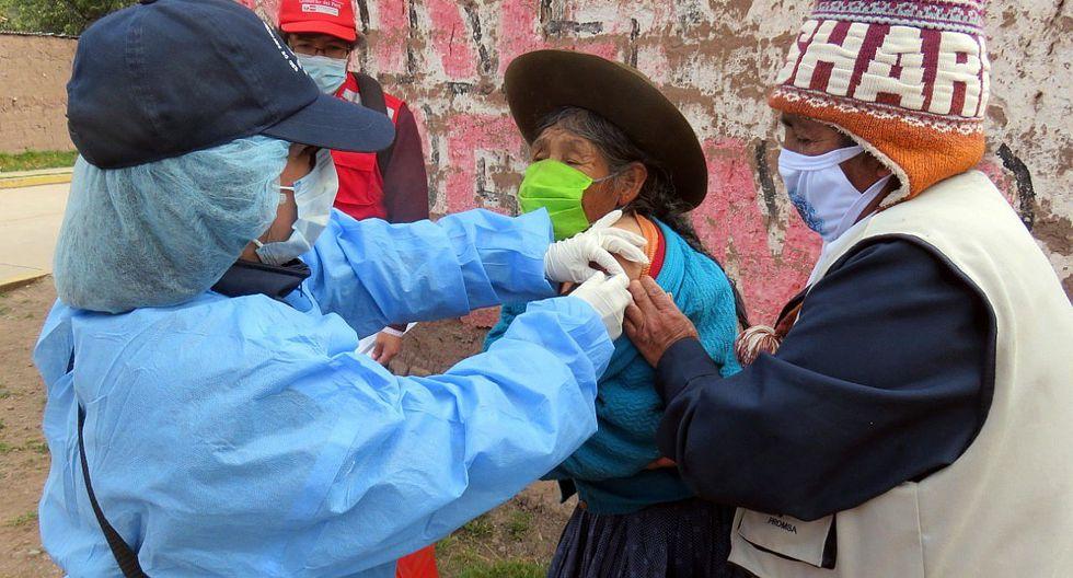 Vacunas de influenza y neumococo para contrarrestar efectos de bajas temperaturas en Cusco