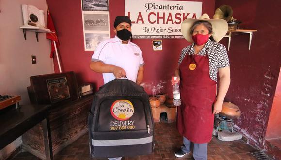 Picantería La Chaska lleva sus platillos a domicilio. (Foto: Leonardo Cuito)