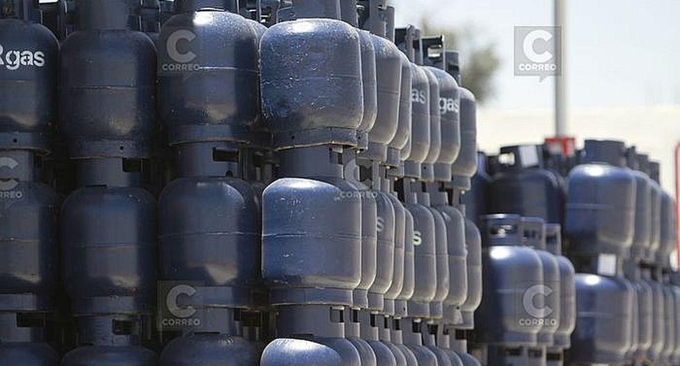 Precio del balón de gas se incrementa en Arequipa