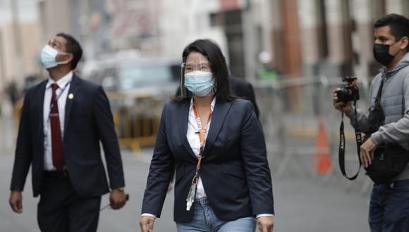 """Fujimori Higuchi consideró que el integrante del equipo especial del caso Lava Jato ha citado a """"cientos de testigos malintencionadamente"""" para impedirle tener contacto con sus asesores.(Foto: El Comercio)"""