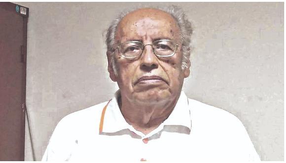 Detienen a exalcalde Estuardo Díaz por requisitoria de homicidio culposo