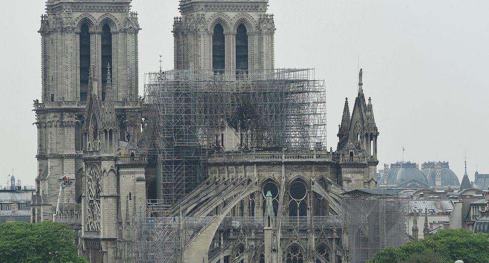 Así luce la catedral de Notre Dame tras voraz incendio (GALERIA)