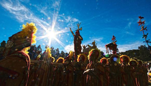 El Inti Raymi será transmitido a nivel nacional e internacional el 24 de junio, tanto por televisión como por redes sociales y plataformas digitales. (Foto: Andina)
