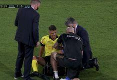 Real Madrid vs. Alavés: árbitro se lesiona y tuvo que ser reemplazado para la segunda parte (VIDEO)
