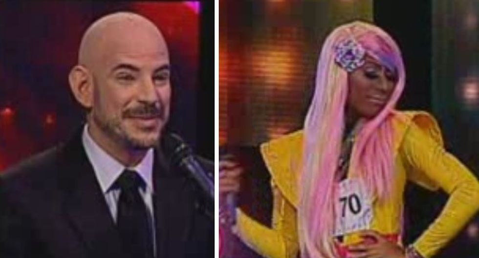 "VIDEO: Ricardo Morán queda impresionado con ""Nicki Minaj"""