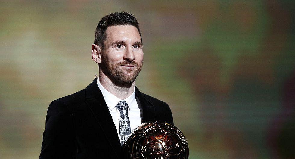 Lionel Messi ganó su sexto balón de oro (FOTOS Y VIDEO)