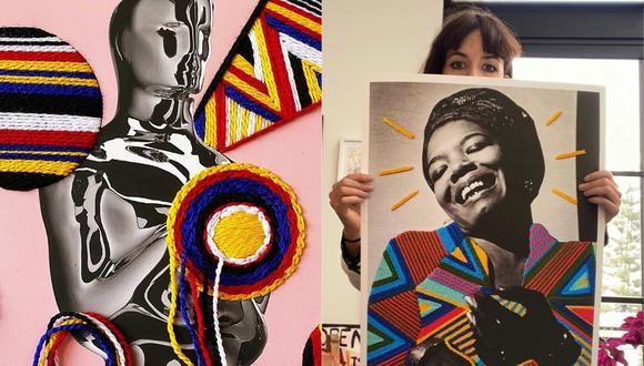Victoria Villasana es una de los siete artistas elegidos por la Academia de Hollywood. (Foto: @theacademy/@villanaart)