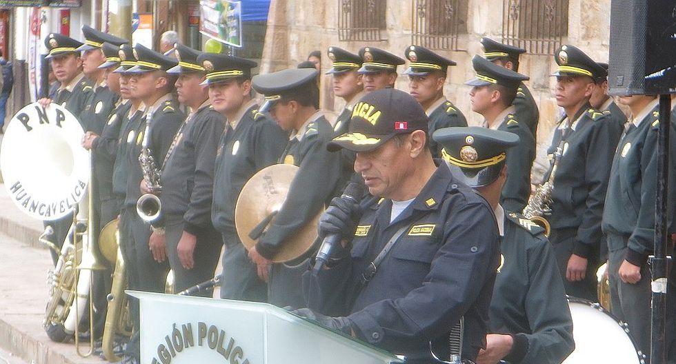 """Nuevo jefe de la REPOL de Huancavelica:""""No permitiré malos elementos en la PNP"""""""