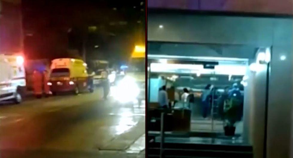 San Isidro: doce personas heridas por caída de ascensor (VIDEO)
