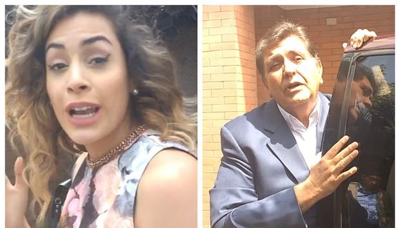 Alan García: Milett Figueroa visitó a candidato presidencial [VIDEO]