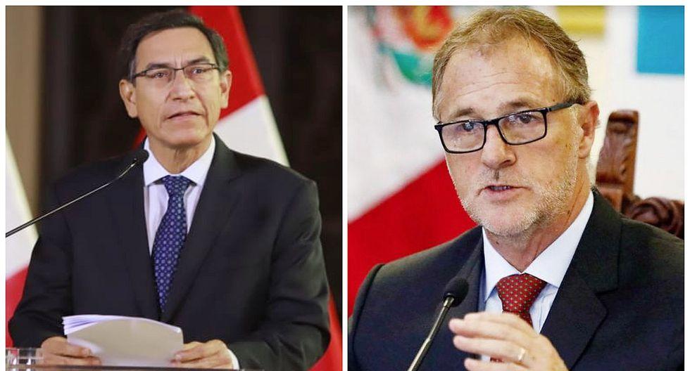 """Jorge Muñoz tras disolución del Congreso: """"Ahora le toca al pueblo peruano decidir"""""""