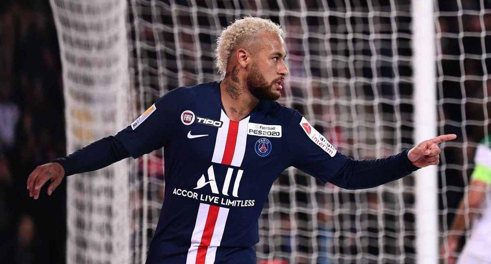 Neymar tuvo una destacada actuación ante Monaco y luego habló de sus ganas de jugar en Tokio 2020. (Foto: AFP)
