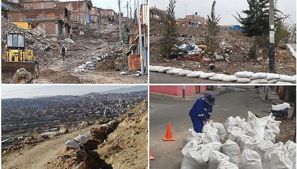 Distritos esperan afrontar lluvias con sacos terreros