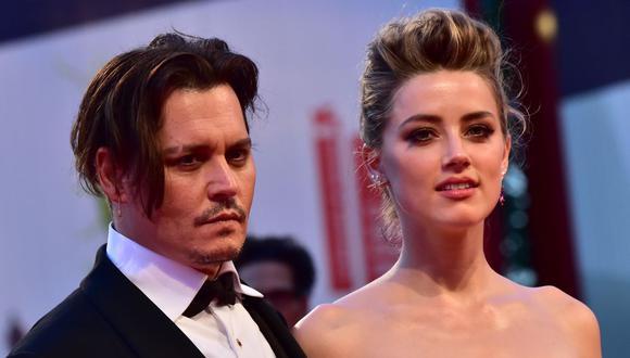 Los actores Johnny Deep y Amber Heard se separaron hace tres años en medio de acusaciones de la actriz al actor por maltrato. (AFP).