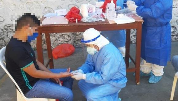 Apurímac: los internos contagiados fueron puestos en cuarentena bajo supervisión médica. (Foto: Inpe)