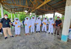 200 familias dedicadas a la apicultura en Huánuco reciben equipos que permitirán mejorar la producción de miel