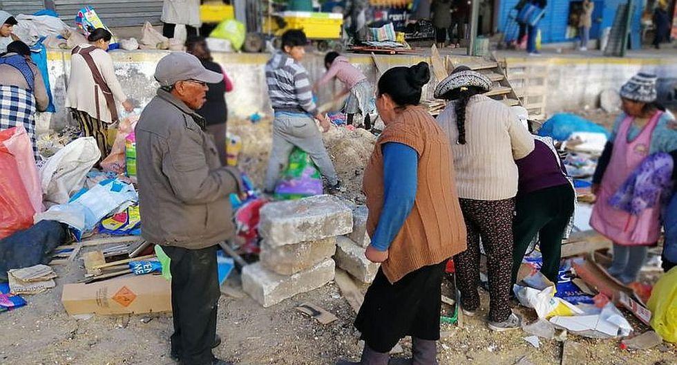 Comuna cerreña una vez más retira ambulantes de Río Seco