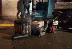 Taller clandestino de pirotécnicos explota por sexta vez y provoca incendio en vivienda (VIDEO)