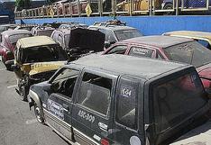 Arequipa: 60% de vehículos no son retirados de depósitos porque deudas superan los 30 mil soles