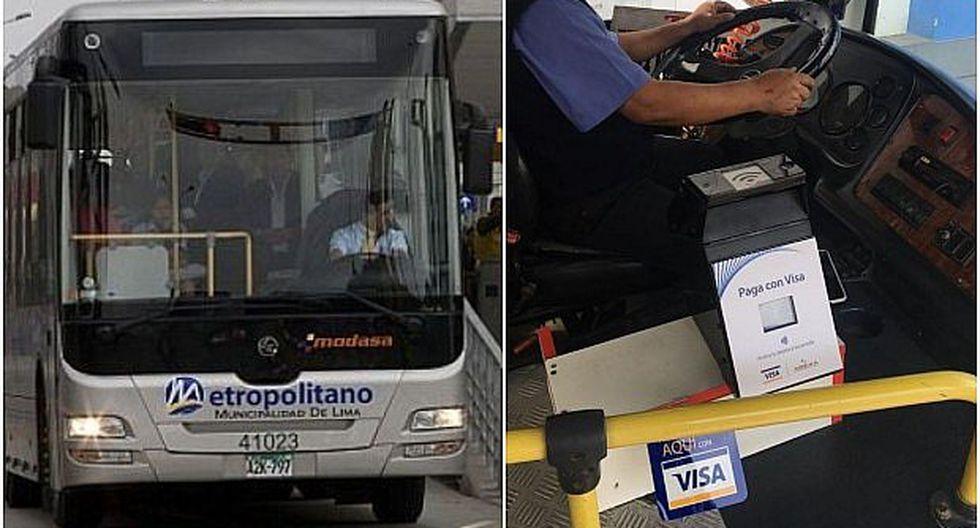 Visa busca que pasajes del Metropolitano puedan pagarse con tarjetas de crédito y débito