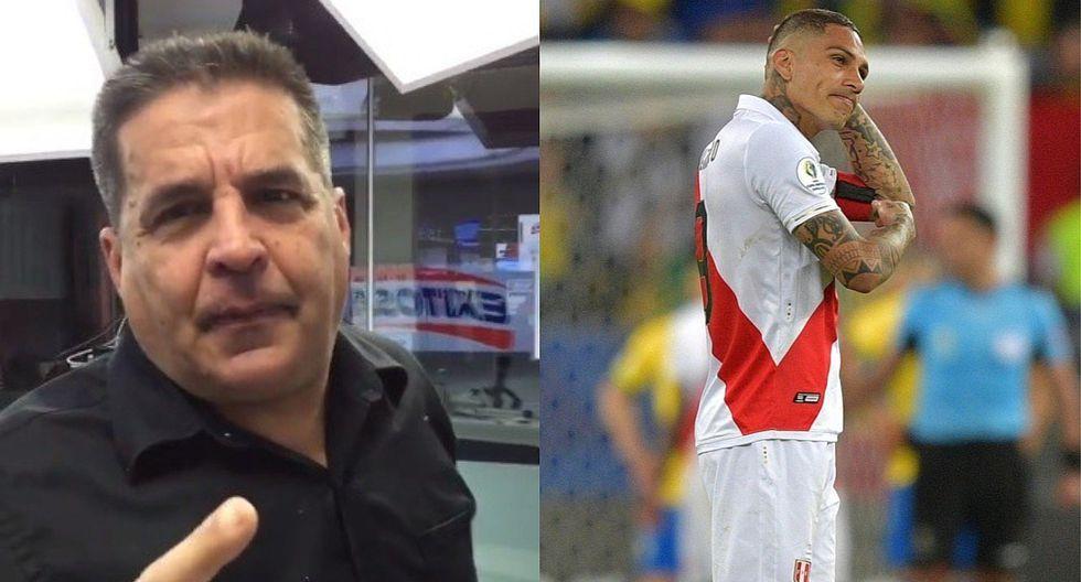 """Gonzálo Núñez minimiza a Paolo Guerrero: """"Lo pintan como si fuera Suárez, Cavani o Neymar"""" (VIDEO)"""