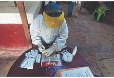 Tumbes: 6 comerciantes con virus