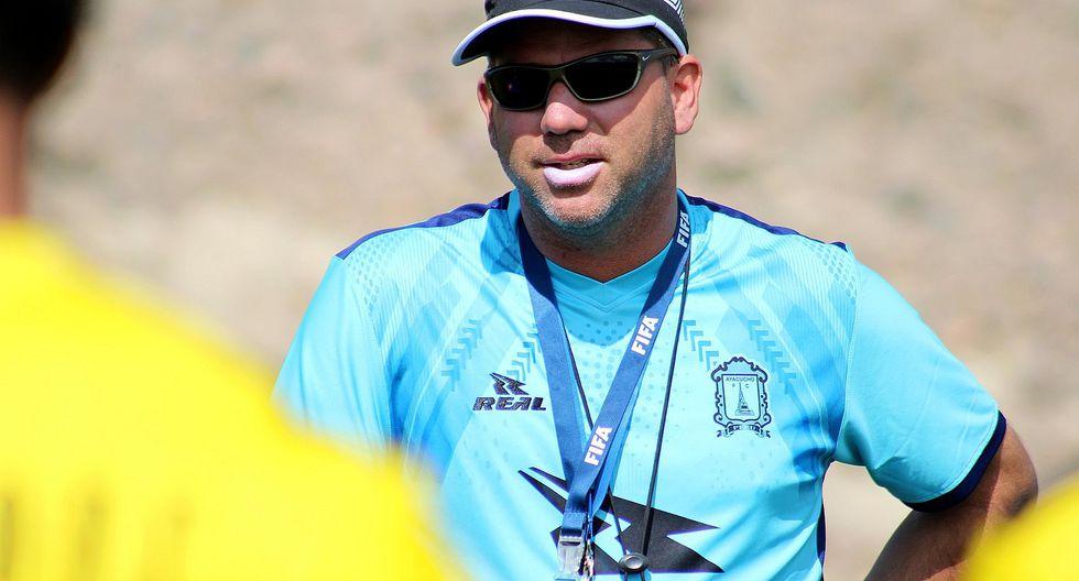 DT Francisco Melgar refiere que Atoche podría jugar este sábado