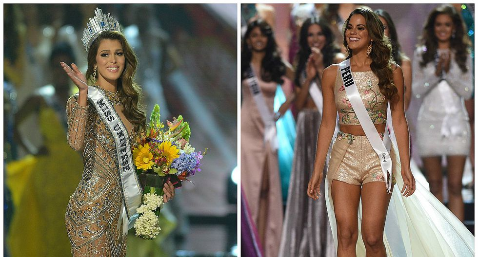 Valeria Piazza y su divertido momento junto a la Miss Universo, Iris Mittenaere (VIDEO)