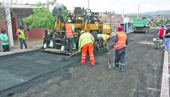 Changuillo tiene la menor ejecución de presupuesto en obras