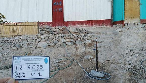EPS detecta conexiones clandestinas de agua y alcantarillado