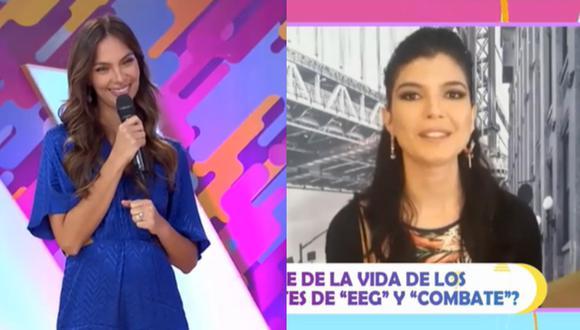 Natalie Vértiz recordó pelea con Nicole Faverón y creará parodia en TikTok