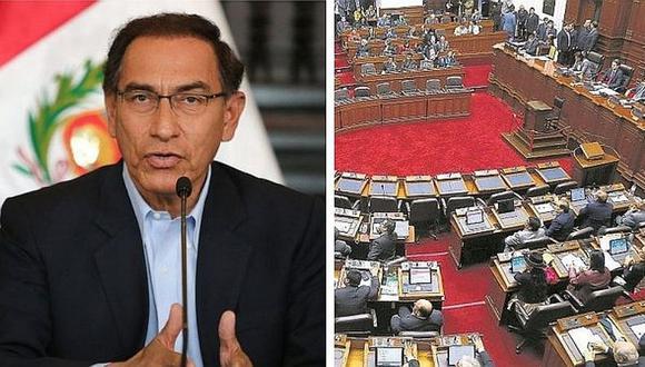 Martín Vizcarra presentaría otra cuestión de confianza si no aprueban reformas políticas