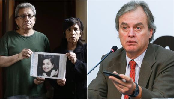 """Carlos Basombrío sobre el caso Solsiret Rodríguez: """"Asumo toda la responsabilidad política"""""""