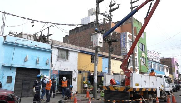 El local está ubicado en la calle Cusco y fue intervenido por la Policía. (Foto: Enel)