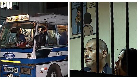 Al menos 20 pasajeros de combi fueron asaltados por cuatro delincuentes en SMP
