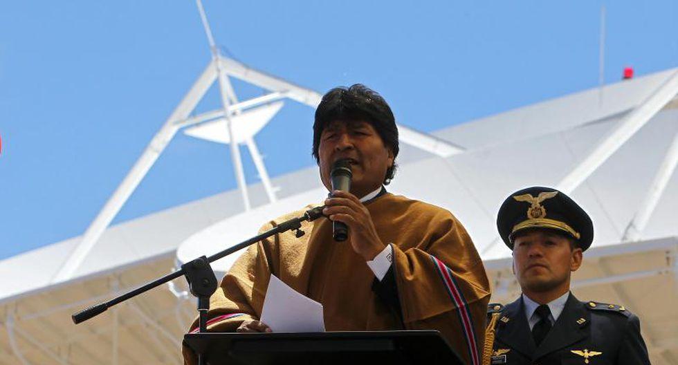 """Evo Morales califica a Mario Vargas Llosa como un """"Dinosaurio neoliberal"""""""