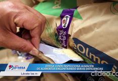 Junín: Almacén es clausurado por realizarse mala manipulación de alimentos en Pilcomayo (VIDEO)