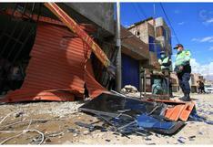 Familia de extranjeros resultan con quemaduras por explosión de balón de gas en vivienda (VIDEO)