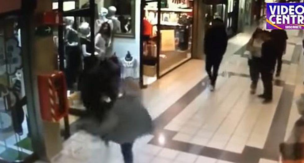YouTube: Valiente anciano de 84 años derriba a ladrón que robó en joyería