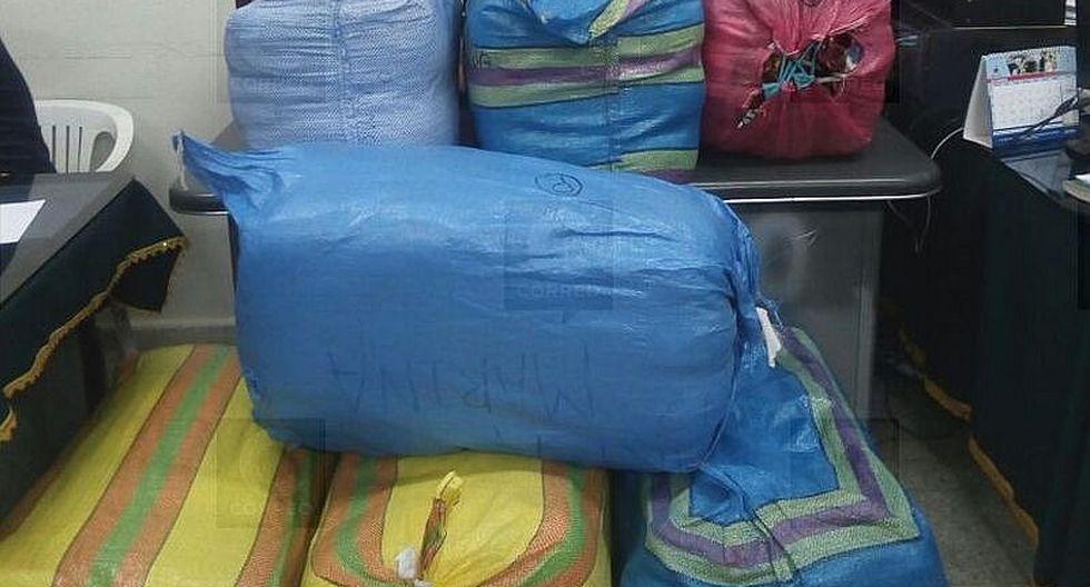 Incautan contrabando valorizado en S/ 15 mil