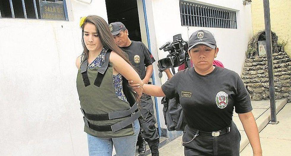 Katiuska del Castillo volvió a la cárcel de Chiclayo tras sentencia de 3 años y 10 meses (VIDEO)