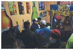 Intervienen a 27 personas en fiesta con chancalatas en Chimbote