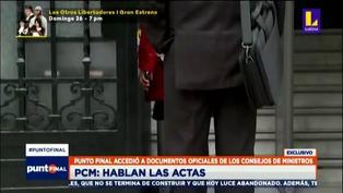 Revelan actas oficiales de los temas tratados en los Consejos de Ministros (VIDEO)