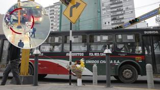 Miraflores: Muestran el momento en el que joven en scooter eléctrico es atropellado por bus