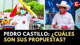 Pedro Castillo: Conoce las propuestas del candidato que pasó a segunda vuelta